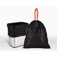 A04.01.156BK-R抽绳式垃圾袋90cm×80cm×2.8S 70L 承重15kg 50个/包 索玛