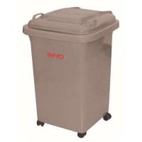 0060GRAY 60L移动垃圾桶 信诺