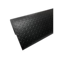 黑色12mm×45cm×45cm 索恩耐磨型防静电抗疲劳垫PVC-拼接型 爱柯部落
