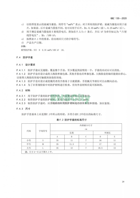 GBZ 130-2020放射诊断放射防护要求 (33)