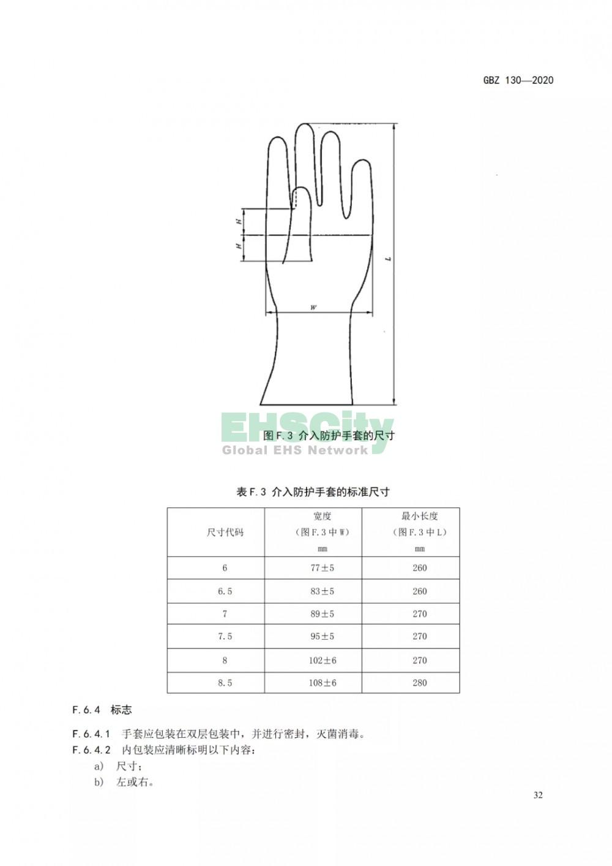 GBZ 130-2020放射诊断放射防护要求 (36)
