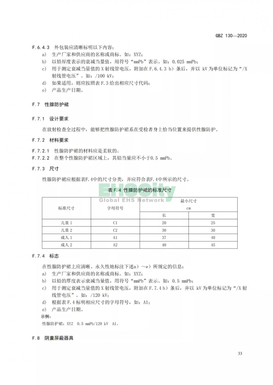 GBZ 130-2020放射诊断放射防护要求 (37)